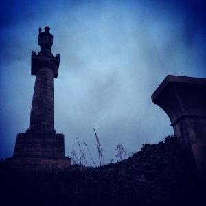 Monument in Glasgow Necropolis