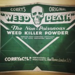Weed Death - the Non-Poisonous Weed Killer Poweder.
