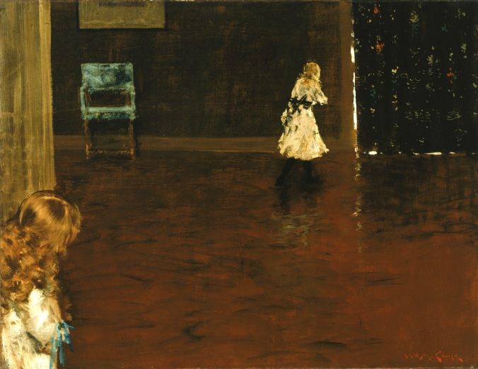 'Hide and Seek' by William Merritt Chase (The Phillips Collection)