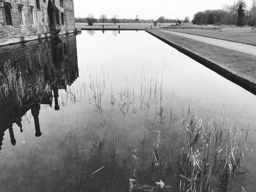 Oxburgh Hall moat