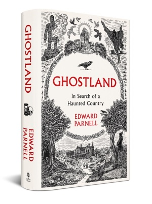 The cover of 'Ghostland' by Edward Parnell
