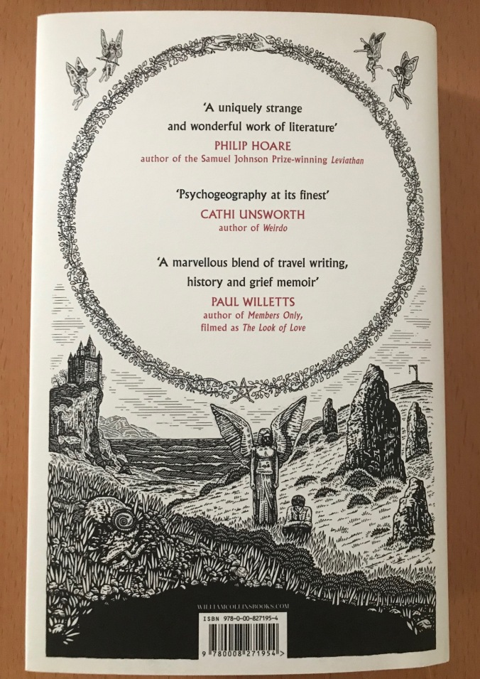 Back cover of 'Ghostland' by Edward Parnell