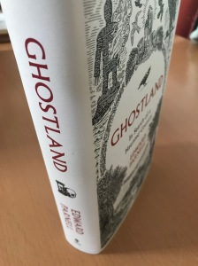 Hardback of 'Ghostland' by Edward Parnell